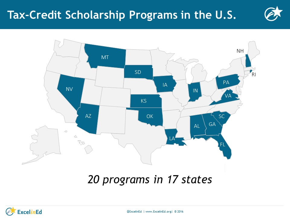 Tax-Credit Scholarship Map