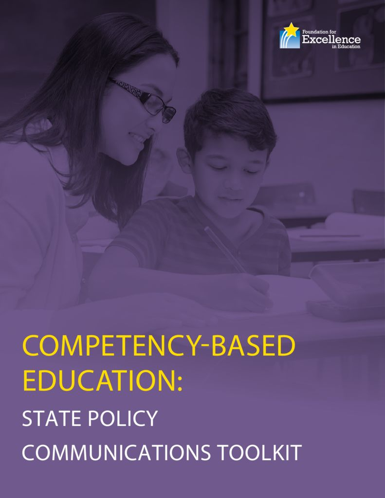 Competency-Based Education State Communications Toolkit &#8211; February 2016> </a> <h5><a href=