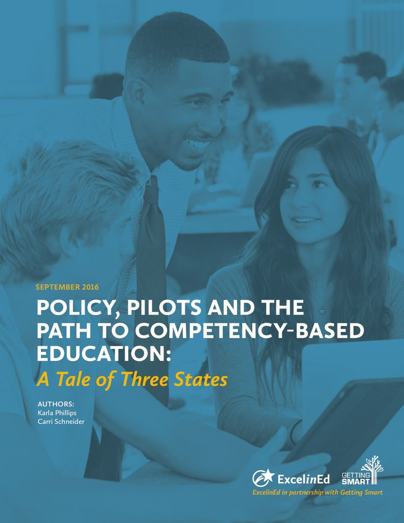 Policy Pilots and the Path to CBE: A Tale of Three States &#8211; September 2016> </a> <h5><a href=
