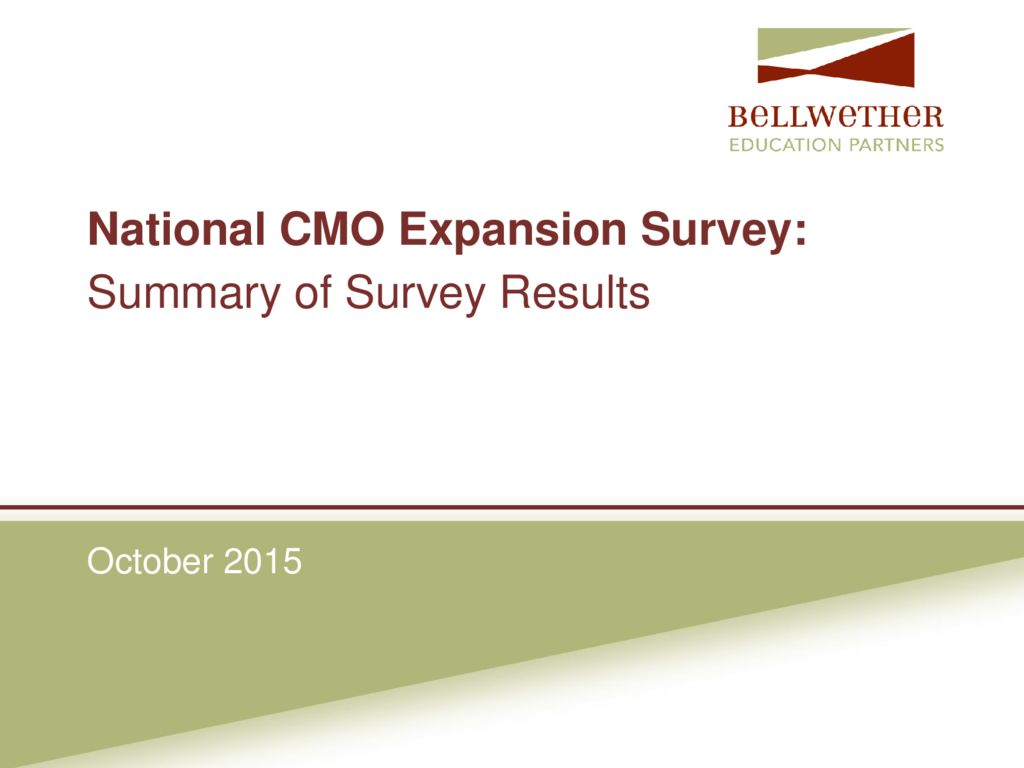 BellWether Education Partners CMO Survey Presentation &#8211; October 2015>									 									</a> 									<h5><a href=