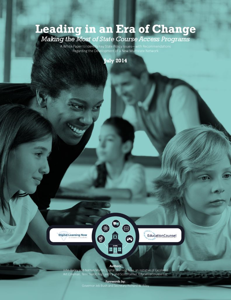 Making the Most of State Course Access Programs &#8211; July 2014> </a> <h5><a href=