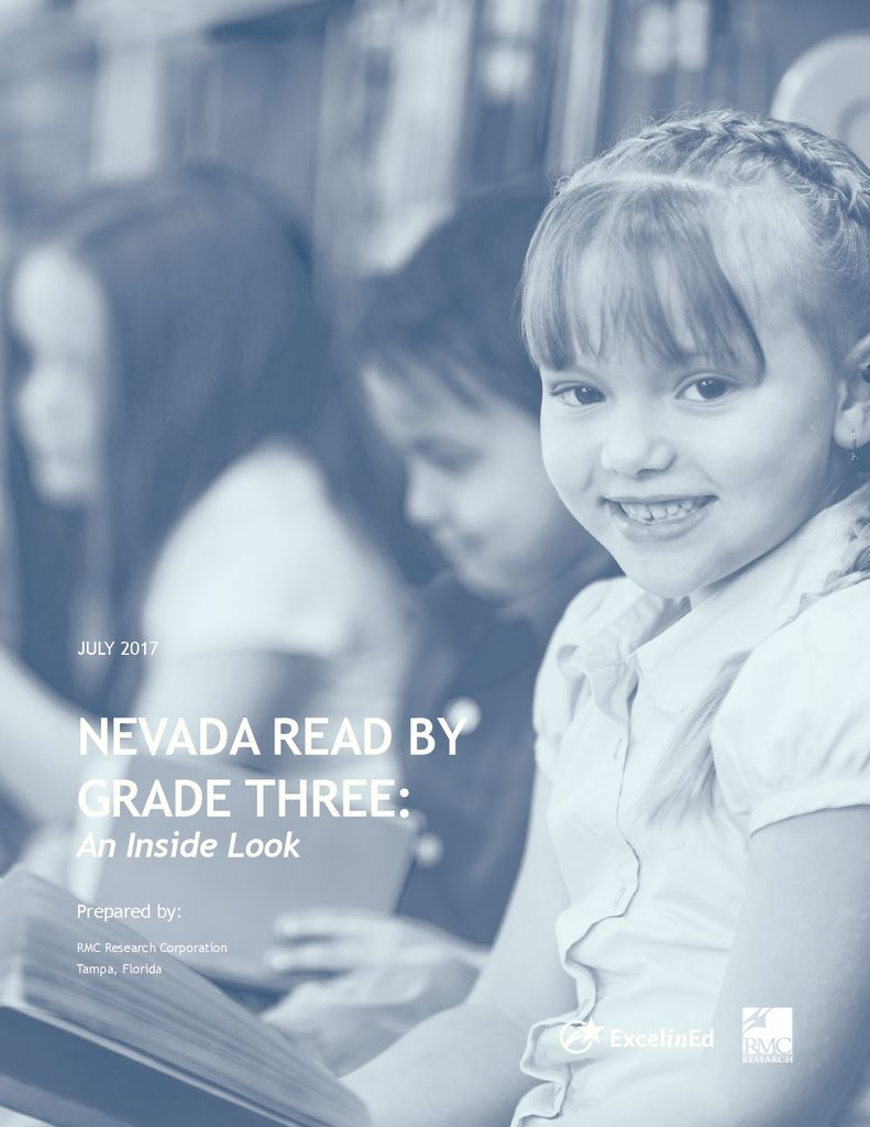 Nevada Read by Grade Three Impact Study &#8211; July 2017>									 									</a> 									<h5><a href=