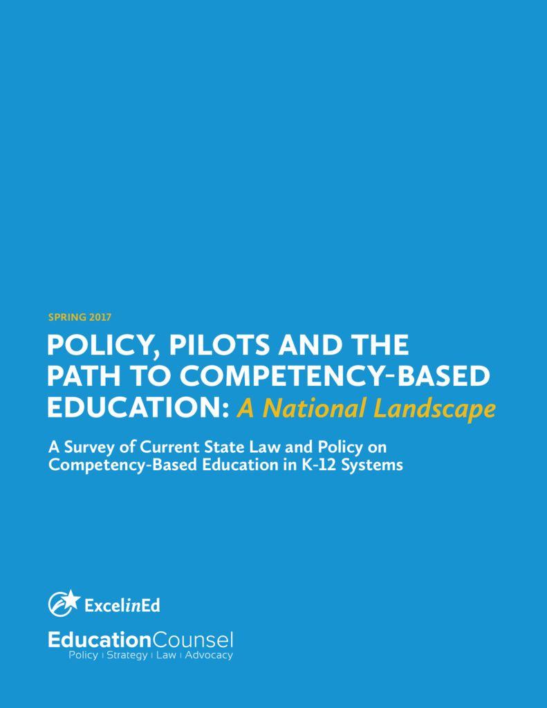 Policy Pilots and the Path to Competency-Based Education National Landscape &#8211; Spring 2017>									 									</a> 									<h5><a href=