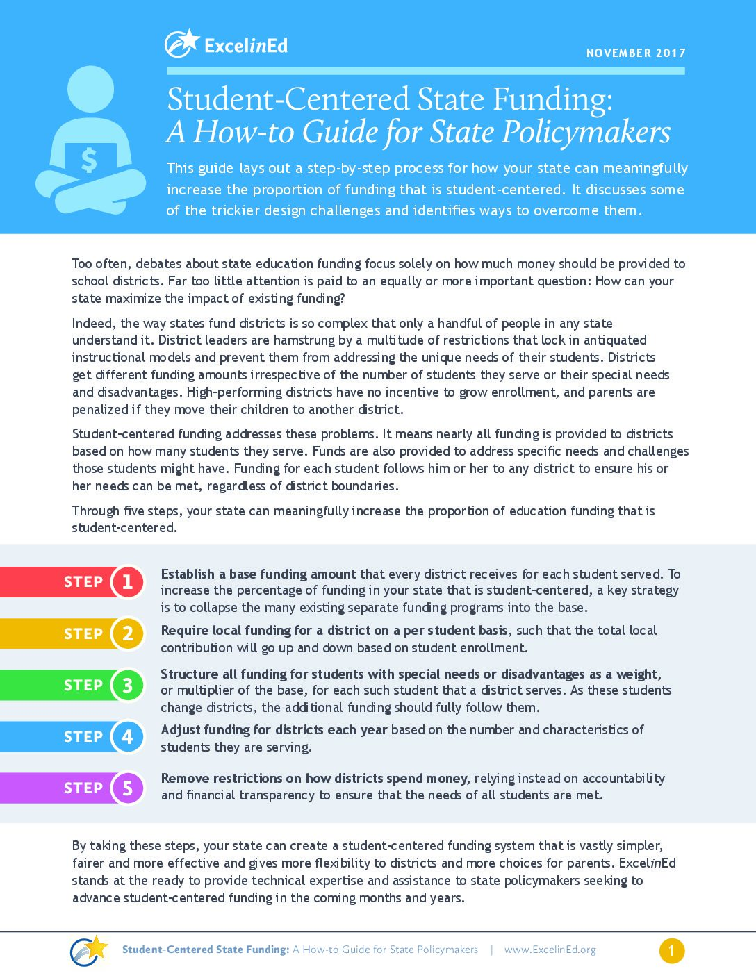 Student Centered State Funding: A How-to Guide for States – November 2017>									 									</a> 									<a href=