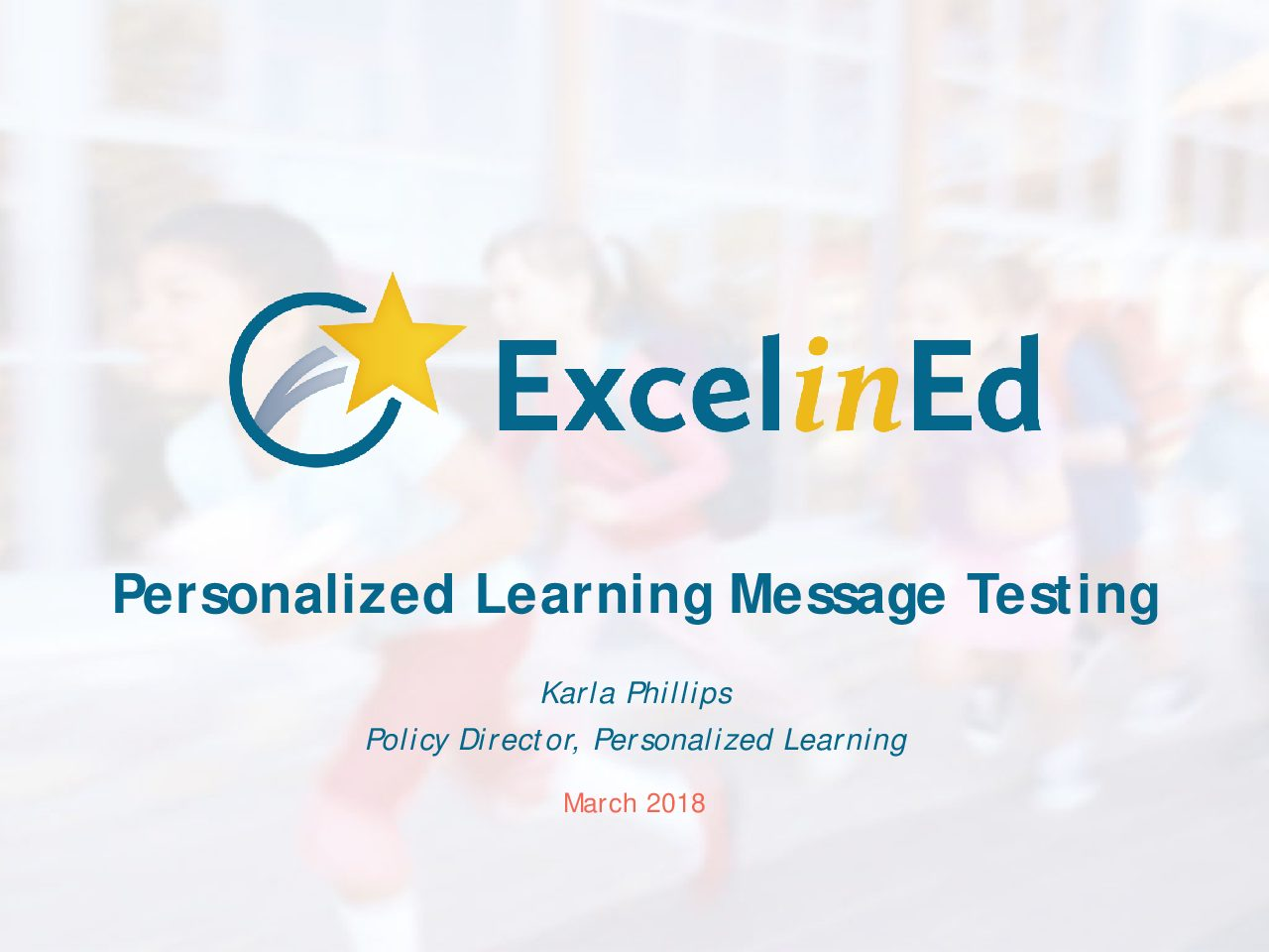 Personalized Learning Messaging Presentation &#8211; January 2018>									 									</a> 									<h5><a href=