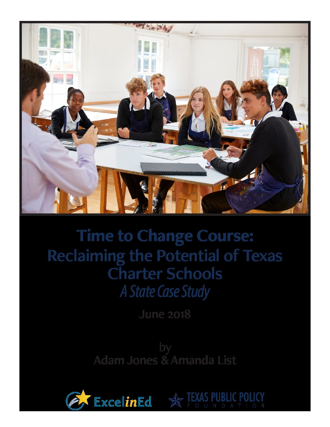 Time to Change Course: A Case Study of Texas Charter Schools>									 									</a> 									<a href=