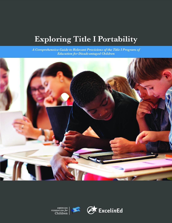 Exploring Title I Portability – 2018> </a> <a href=
